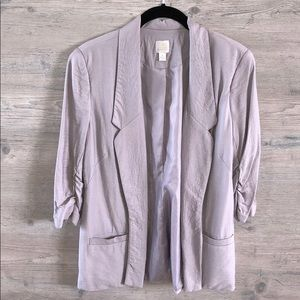 Lauren Conrad 3/4 sleeve blazer